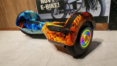 Xe Điện 2 Bánh Cân Bằng Thông Minh Có Đèn Led Màu Lửa Băng Chợ bán sản phẩm xe điện đẹp tốt cao cấp uy tín giá rẻ