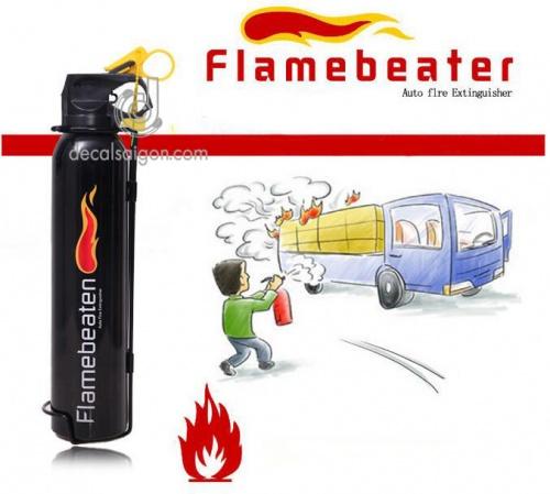 Thiết bị chữa cháy bình cứu hỏa Flrebeater mini cho ô tô Chợ bán sản phẩm xe điện đẹp tốt cao cấp uy tín giá rẻ