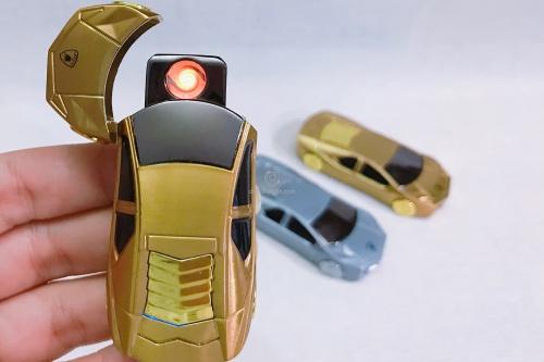 Bật lửa hộp quẹt siêu xe sạc usb nhỏ gọn Chợ bán sản phẩm xe điện đẹp tốt cao cấp uy tín giá rẻ