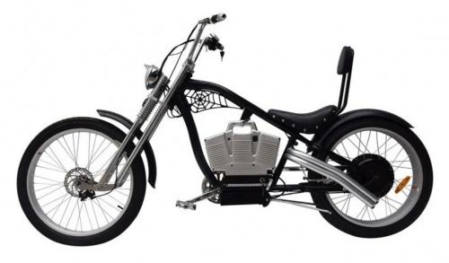 Xe Đạp Điện E-Chopper S1 Động Cơ Treo Chợ bán sản phẩm xe điện đẹp tốt cao cấp uy tín giá rẻ