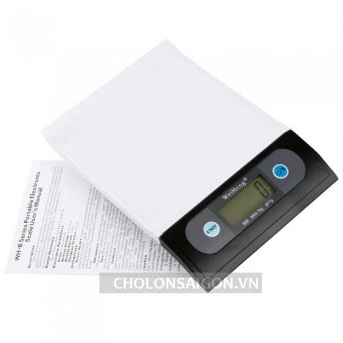 Cân điện tử 7Kg/1g chính hãng WeiHeng độ chính xác cao giá rẻ hcm