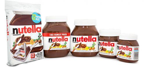 Bơ nguyên chất ca cao Nutella đạt tiêu chuẩn vệ sinh của mỹ