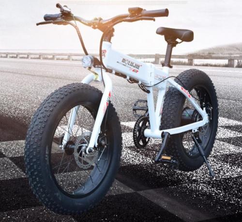 Xe đạp điện bánh béo Porsche 36V SNOWMOBILE Chợ bán sản phẩm xe điện đẹp tốt cao cấp uy tín giá rẻ