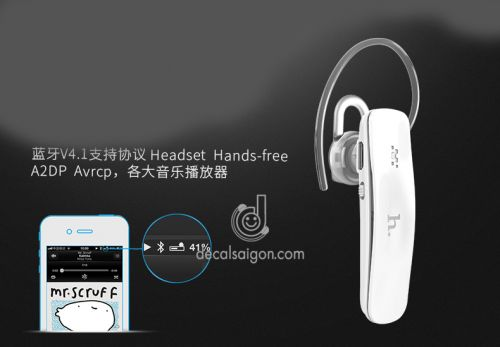 Tai nghe bluetooth cao cấp Hoco EPB05 chất lượng âm thanh tuyệt hảo