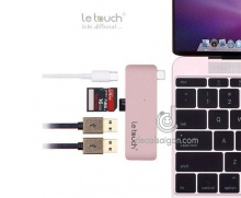 USB LE TOUCH USB-C COMBO HUB 5in1 Cho MacBook