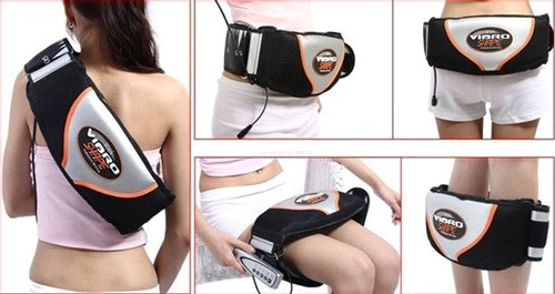 Đai Vibro Shape Message Bụng