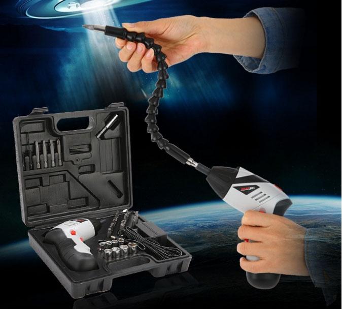Bộ máy khoan cầm tay sạc điện 46 món