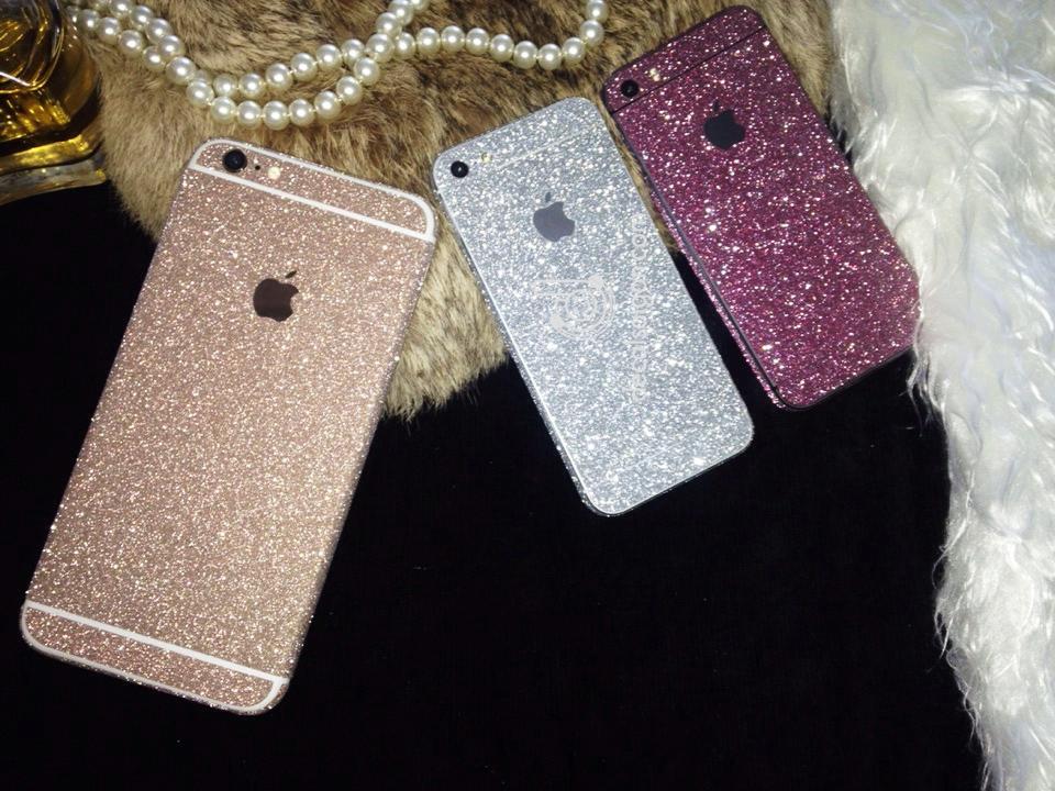Miếng dán kim tuyến Iphone 5s 6s 6 plus