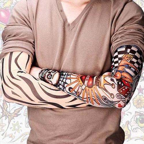 Găng tay hình xăm tatoo 3D